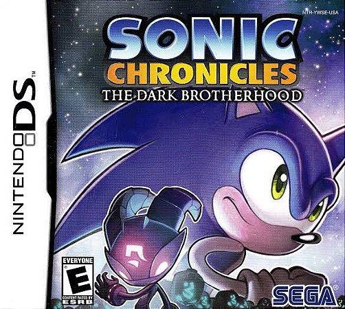 Jogo Sonic Chronicles: The Dark Brotherhood Nintendo DS Usado