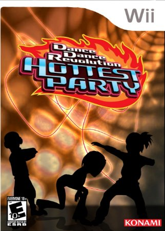 Jogo Dance Dance Revolution Hottest Party Nintendo Wii Usado