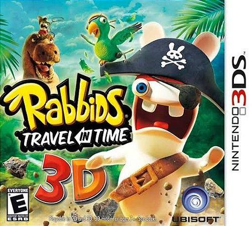 Jogo Rabbids Travel in Time 3D Nintendo 3DS Usado