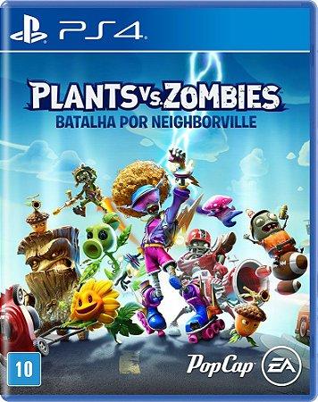Jogo Plants vs Zombies Batalha por Neighborville PS4 Novo