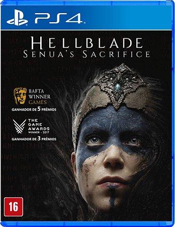 Jogo Hellblade Senua's Sacrifice PS4 Novo