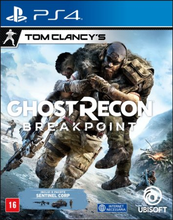 Jogo Tom Clancy's Ghost Recon Breakpoint PS4 Novo