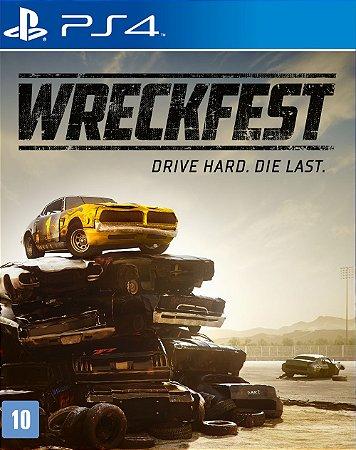 Jogo Wreckfest PS4 Novo