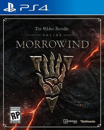 Jogo The Elder Scrolls Online Morrowind PS4 Novo