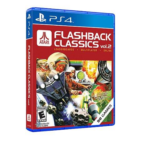 Jogo Atari Flashback Classics Vol. 2 PS4 Novo