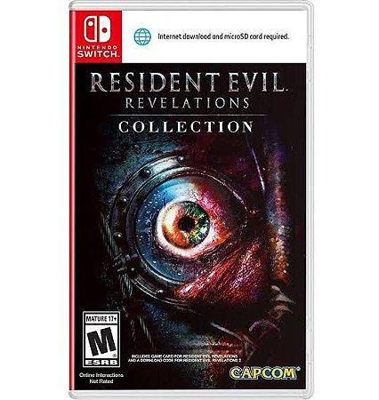 Jogo Resident Evil Revelations Collection Nintendo Switch Usado