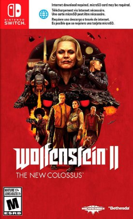 Jogo Wolfenstein II: The New Colossus Nintendo Switch Usado