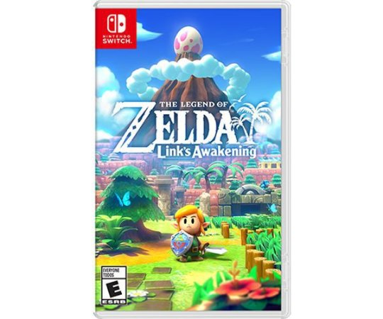 Jogo The Legend of Zelda: Link's Awakening Nintendo Switch Novo