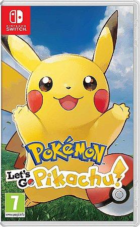 Jogo Pokemon Let's Go Pikachu - Nintendo Switch Novo