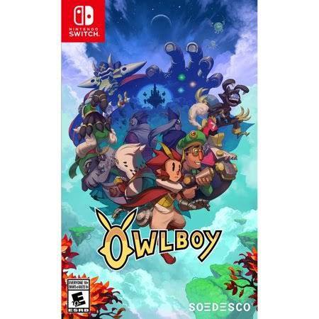Jogo Owlboy NIntendo Switch Novo