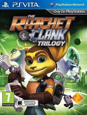 Jogo Ratchet & Clank Trilogy PSVita Novo
