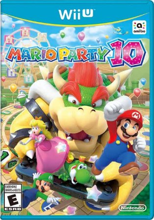 Jogo Mario Party 10 Nintendo WiiU Usado