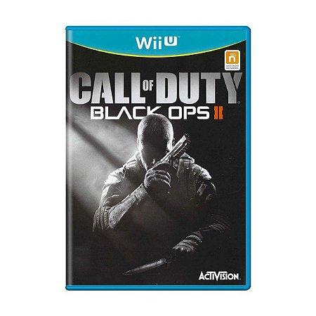 Jogo Call of Duty Black Ops 2 Nintendo WiiU Usado