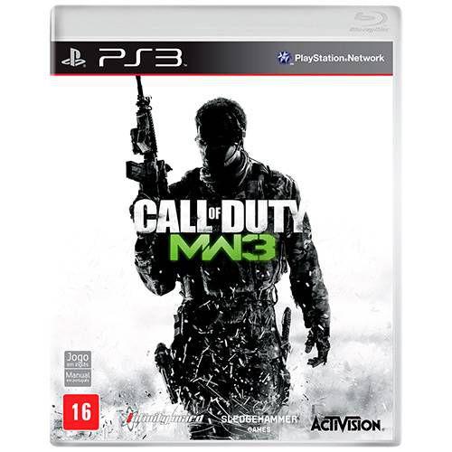 Jogo Call of Duty: Modern Warfare 3 PS3 Usado