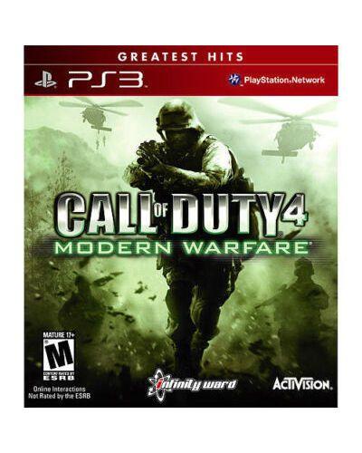 Jogo Call Of Duty Modern Warfare PS3 Novo