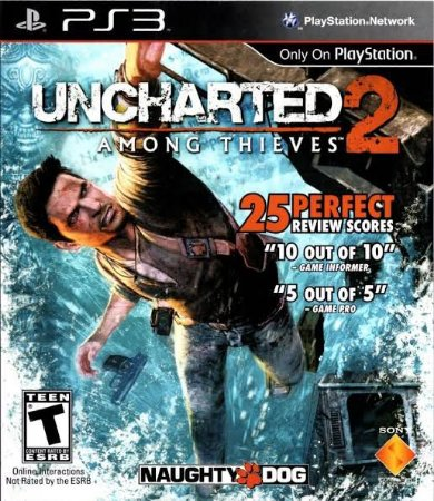 Jogo Uncharted 2: Among Thieves PS3 Usado