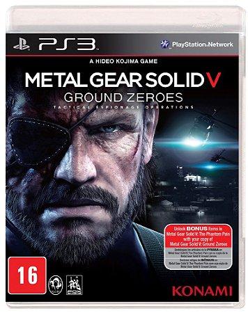 Jogo Metal Gear V: Ground Zeroes PS3 Usado
