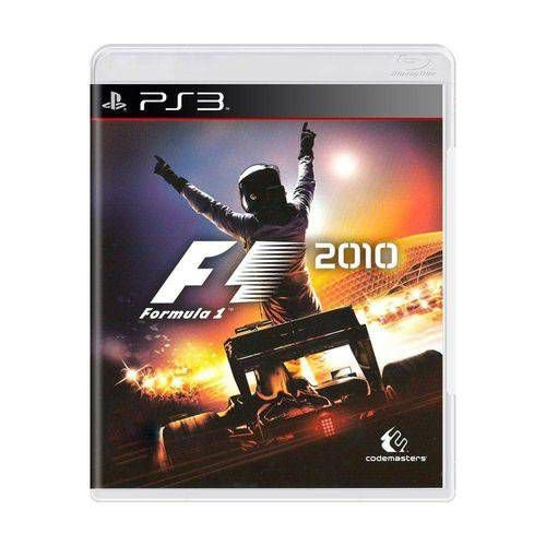 Jogo F1 2010 PS3 Usado