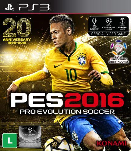 Jogo PES 2016 PS3 Usado