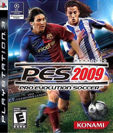 Jogo PES 2009 PS3 Usado