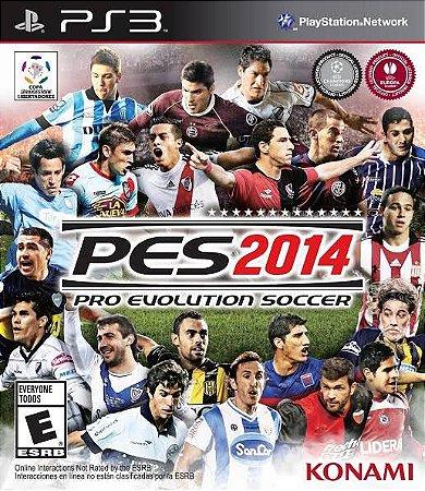Jogo PES 2014 PS3 Usado