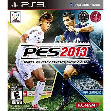 Jogo PES 2013 PS3 Usado