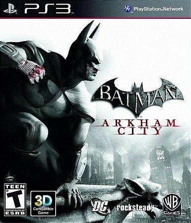 Jogo Batman: Arkham City PS3 Usado