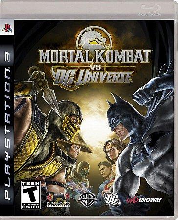 Jogo Mortal Kombat VS. DC Universe PS3 Usado