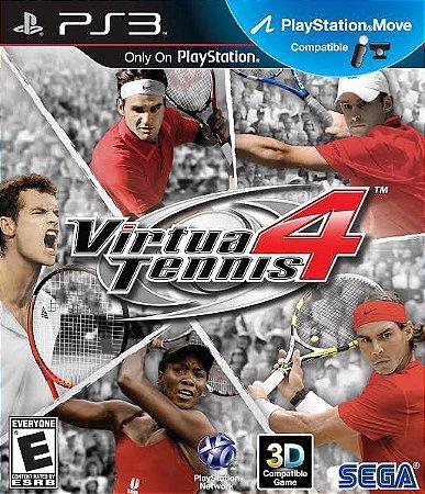Jogo Virtua Tennis 4 PS3 Usado
