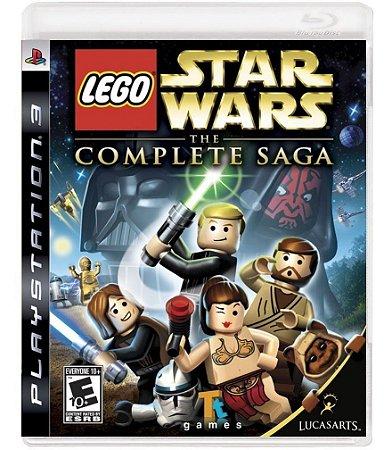 Jogo LEGO Star Wars The Complete Saga PS3 Usado