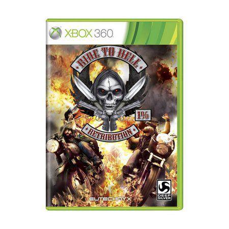 Jogo Ride to Hell Retribution X360 Usado