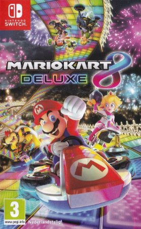 Jogo Mario Kart 8 Deluxe Nintendo Switch Novo