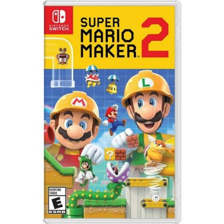 Jogo Super Mario Maker 2 Nintendo Switch Novo