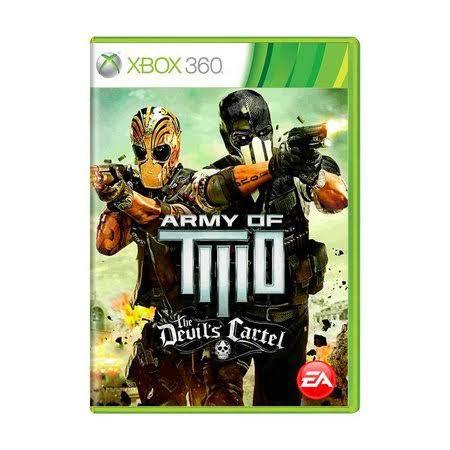 Jogo Army of Two Devil's Cartel X360 Usado