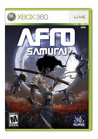 Jogo Afro Samurai X360 Usado