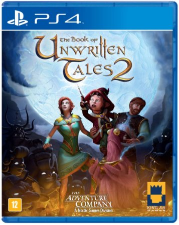 Jogo The Book of Unwritten Tales 2 Ps4 Usado