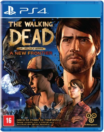 Jogo The Walking Dead: A New Frontier PS4 Usado