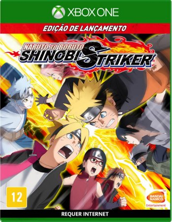 Jogo Naruto To Boruto Shinobi Striker Xbox One Usado