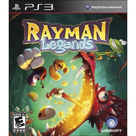 Jogo Rayman Legends PS3 - Usado