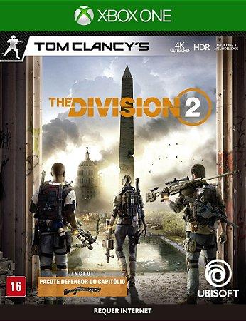 Jogo Tom Clancys The Division 2 Xbox One Usado