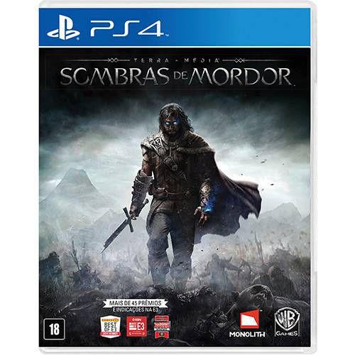 Jogo Sombras de Mordor PS4 Usado