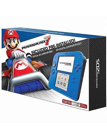 Console Nintendo 2DS Blue Usado