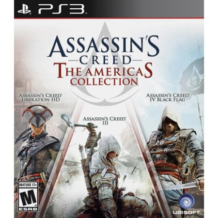 Jogo Assassin's Creed The America's Collection PS3 Usado