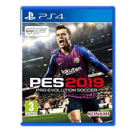 Jogo Pro Evolution Soccer 2019 Xbox One Usado