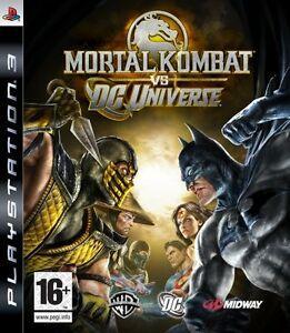 Jogo Mortal Kombat Vs. DC Universe X360 Usado