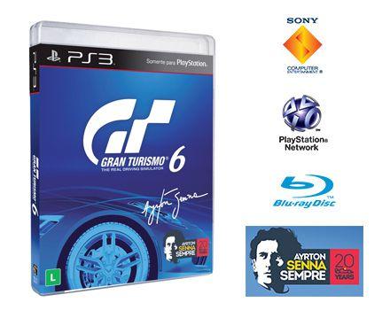 Jogo Gran Turismo 6 PS3 Novo