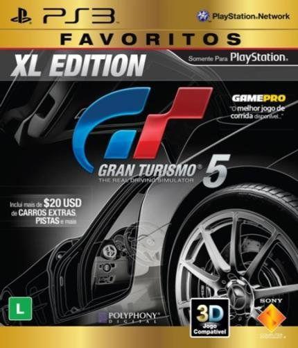 Jogo Gran Turismo 5 XL Edition PS3 Novo