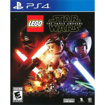 Jogo LEGO: Star Wars The Force Awakens PS4 Usado