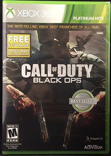 Jogo Call of Duty Black Ops X360 Usado
