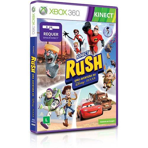 Jogo Kinect Rush X360 Usado
